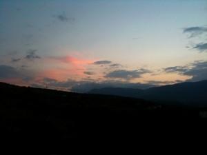 Закат в Солнечногорском