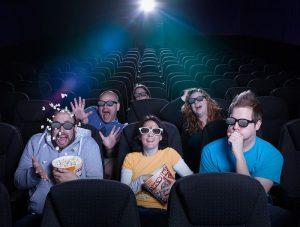 Кинотеатр для просмотра 3D кино
